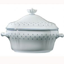 Richard Ginori Royal Blue Tureen with Cover